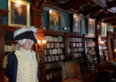 General Washington in the Dawes House Library